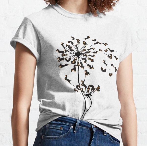 Dachshund Dandelion Classic T-Shirt
