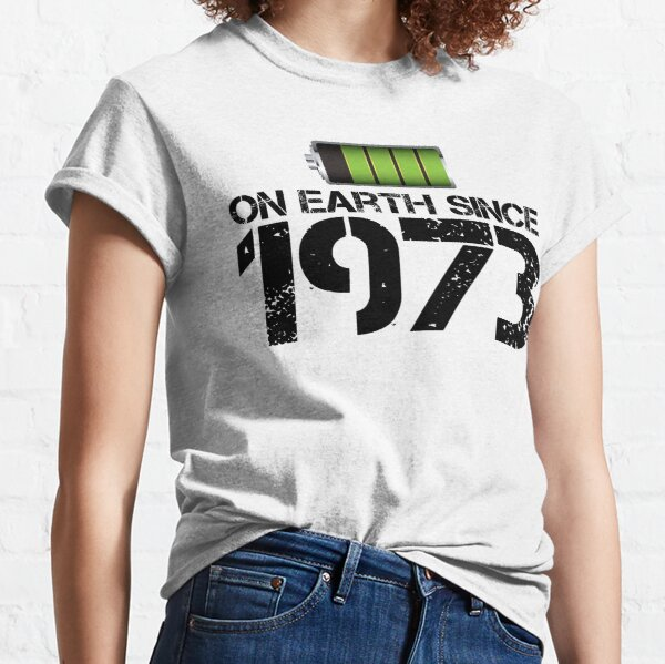 On earth since 1973 Classic T-Shirt