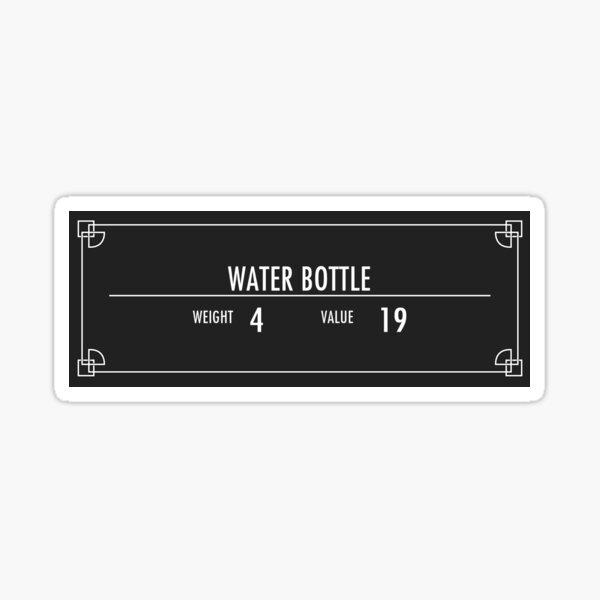 Water Bottle of Magnus Sticker