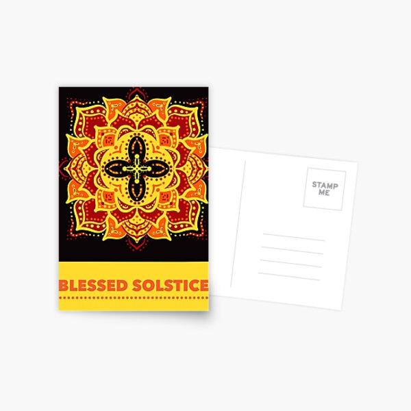 Blessed Solstice Postcard