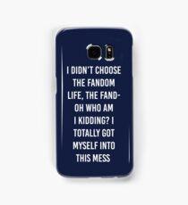 Fandom Life Samsung Galaxy Case/Skin