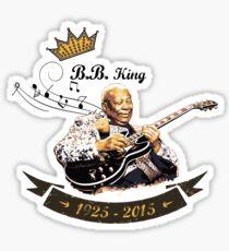 B.B. King - Rest In Peace Sticker
