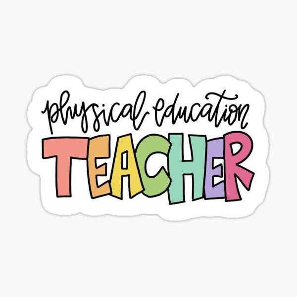 PE Teacher Sticker