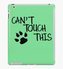 Can't Touch This funny nerd geek geeky iPad Case/Skin