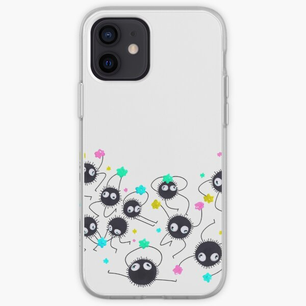 Sprites de suie Coque souple iPhone