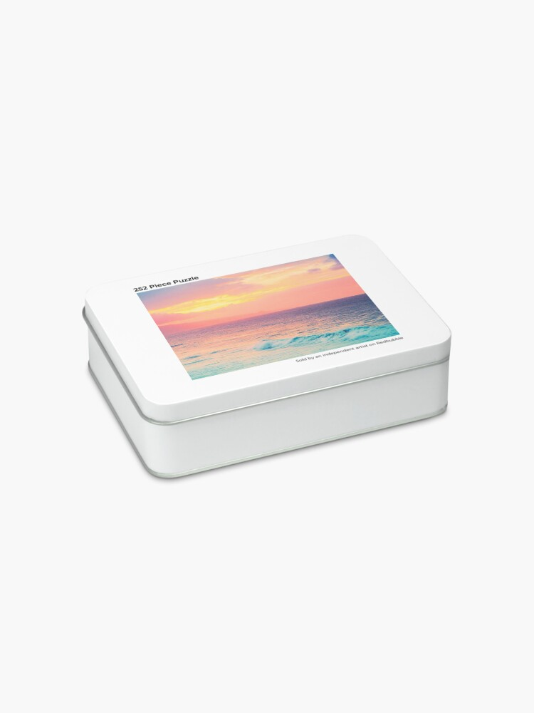 Alternate view of Hookipa Surf Sunset Jigsaw Puzzle