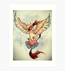 Mega Pidgeot Art Print