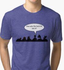 Intruder Alert! Tri-blend T-Shirt
