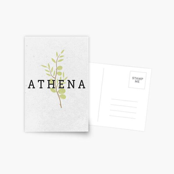 ATHENA - Greek Mythology Postcard