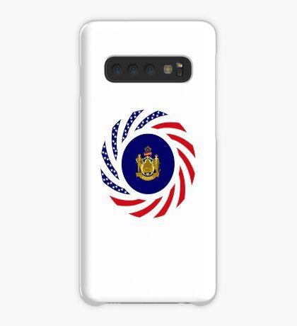 Maine Murican Patriot Flag Series 1.0 Case/Skin for Samsung Galaxy