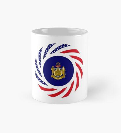 Maine Murican Patriot Flag Series 1.0 Mug