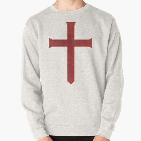 Templar Cross Pullover Sweatshirt