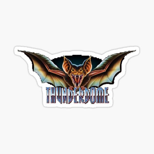 Thunderdome 10  Sticker