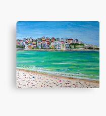 Bondi Ink......and acrylic Canvas Print