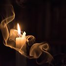 The candle and the smoke 1 by dcarphoto