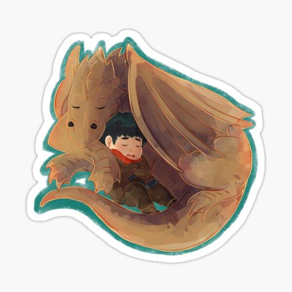 Merlin - A boy and his dragon Sticker