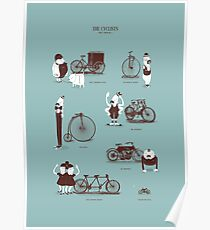 Meet The Cyclists Poster
