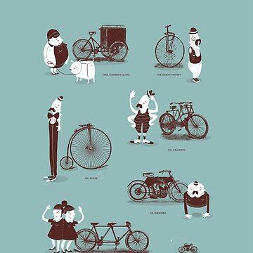 Treffen Sie die Radfahrer von jacquesmaes