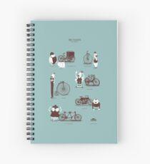 Meet The Cyclists Spiral Notebook
