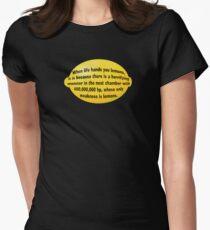 Lemon Womens Fitted T-Shirt
