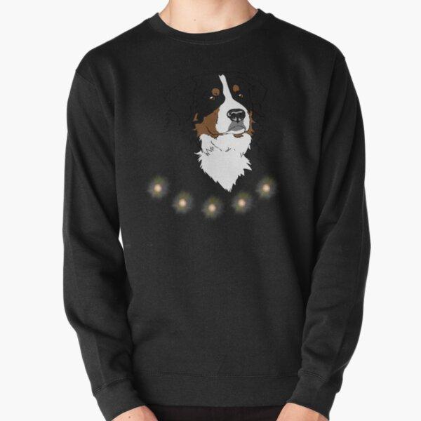 Bernese Mountain Dog Vintage Sunset Dog Pullover Sweatshirt