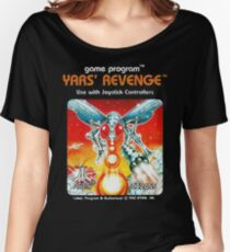 Yars' Revenge Cartridge Artwork Women's Relaxed Fit T-Shirt