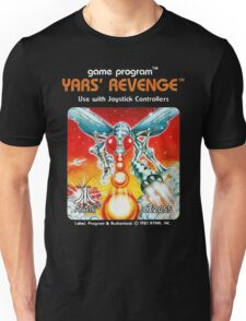 Yars' Revenge Cartridge Artwork Unisex T-Shirt