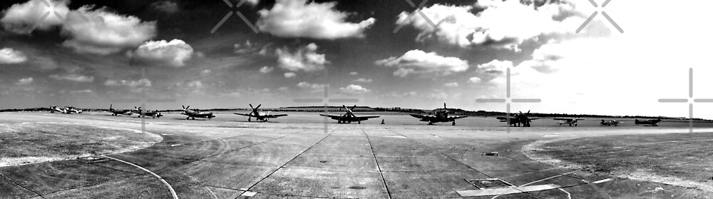 Flight line by Chris Jackson