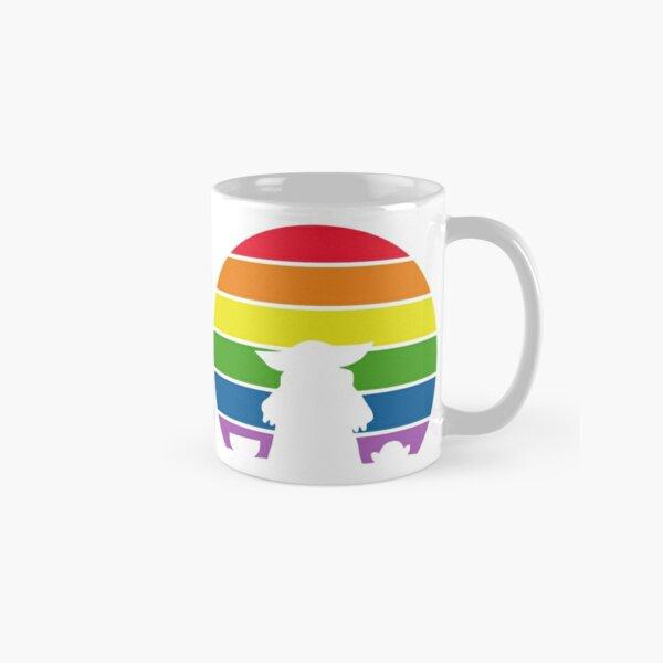 Alien With Frog - Rainbow Pride Classic Mug