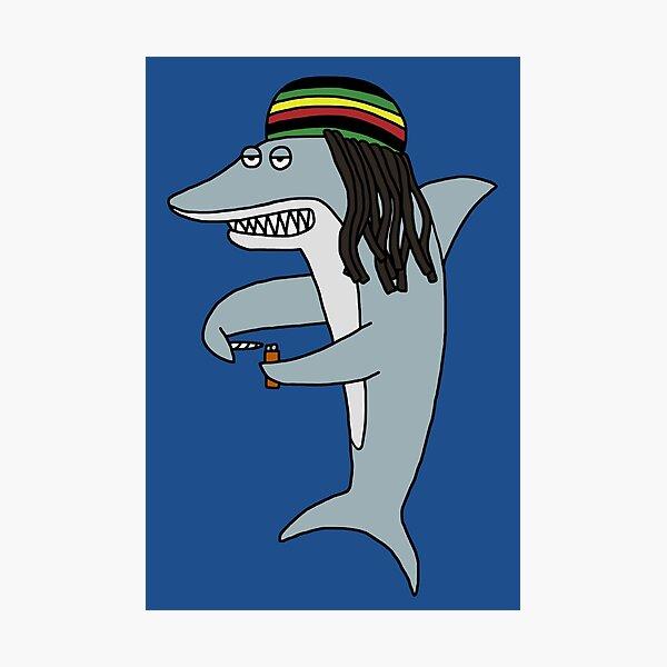 Reggae Shark Photographic Print