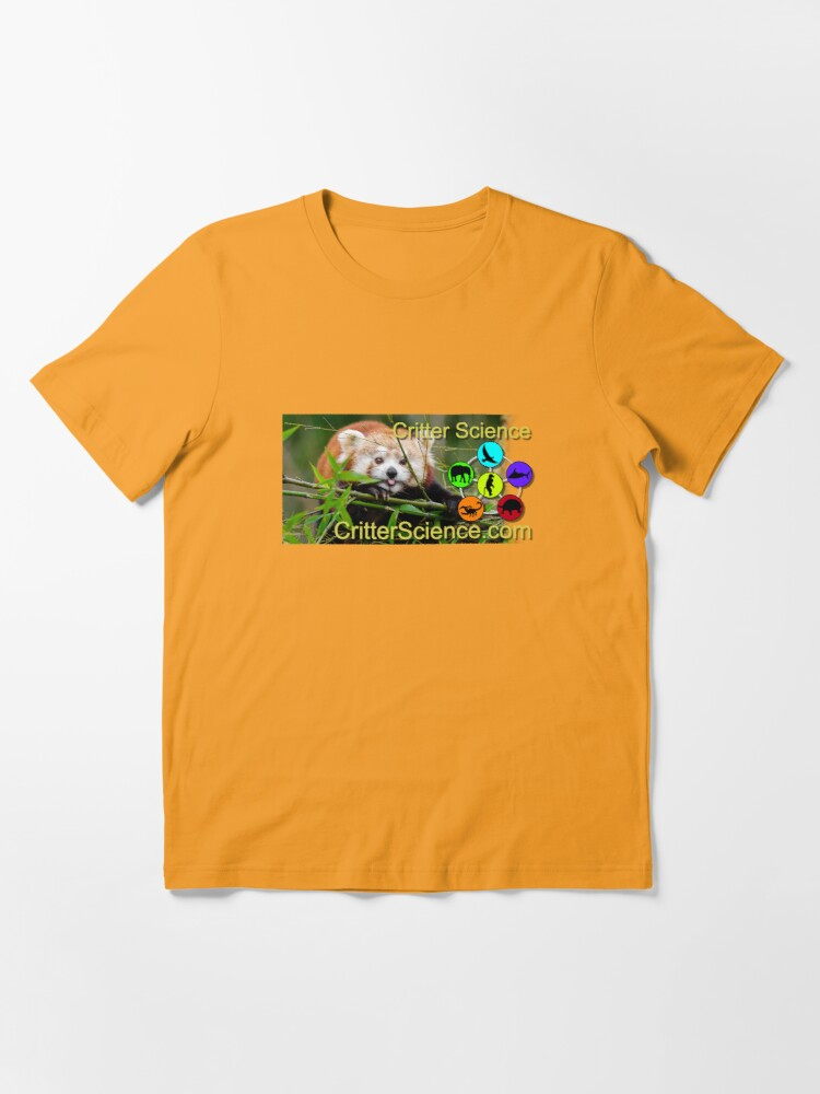 Alternate view of Red Panda Essential T-Shirt