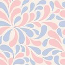 abstract colorful pattern in pastel colors by Nataliia-Ku
