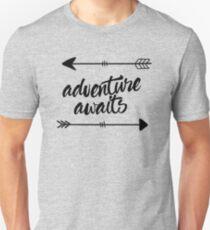 Adventure Awaits (arrows) Unisex T-Shirt