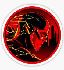 red flash Sticker
