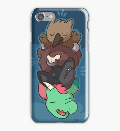 Mythical heads 2 iPhone Case/Skin