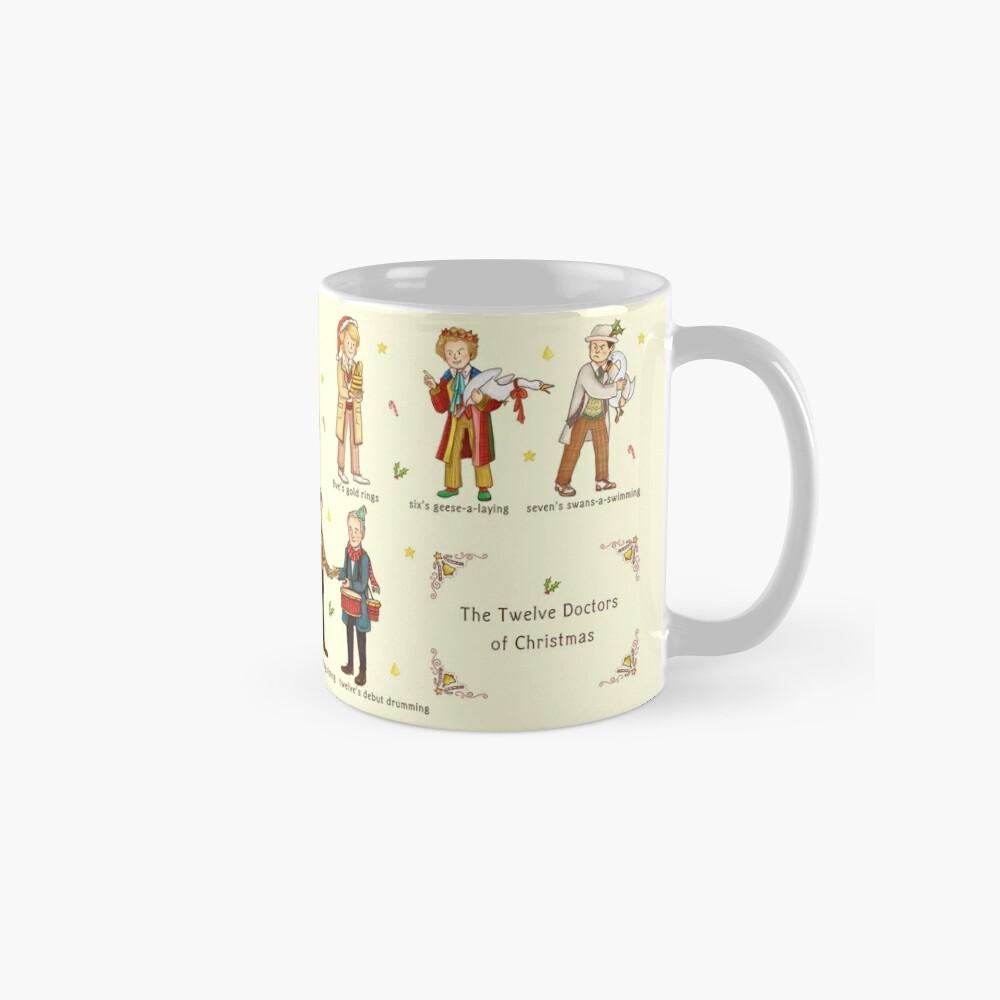 The Twelve Doctors of Christmas Classic Mug
