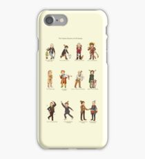 The Twelve Doctors of Christmas iPhone Case/Skin