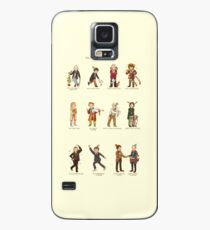 The Twelve Doctors of Christmas Case/Skin for Samsung Galaxy