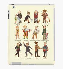 The Twelve Doctors of Christmas iPad Case/Skin