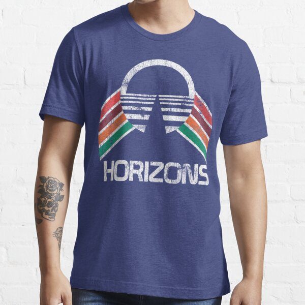Vintage Horizons Distressed Logo in Vintage Retro Style Essential T-Shirt