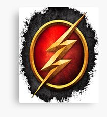flash thunder Canvas Print