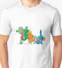 Pokémon Generation 3 Starters Unisex T-Shirt
