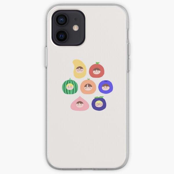 ¡ENHYPEN como frutas! (7 miembros) ☆ I-LAND Funda blanda para iPhone