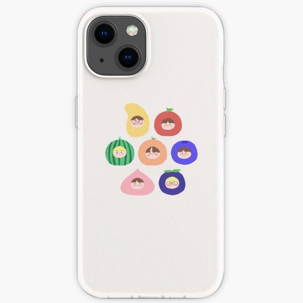 ENHYPEN als Früchte! (7 Mitglieder) ☆ I-LAND iPhone Flexible Hülle