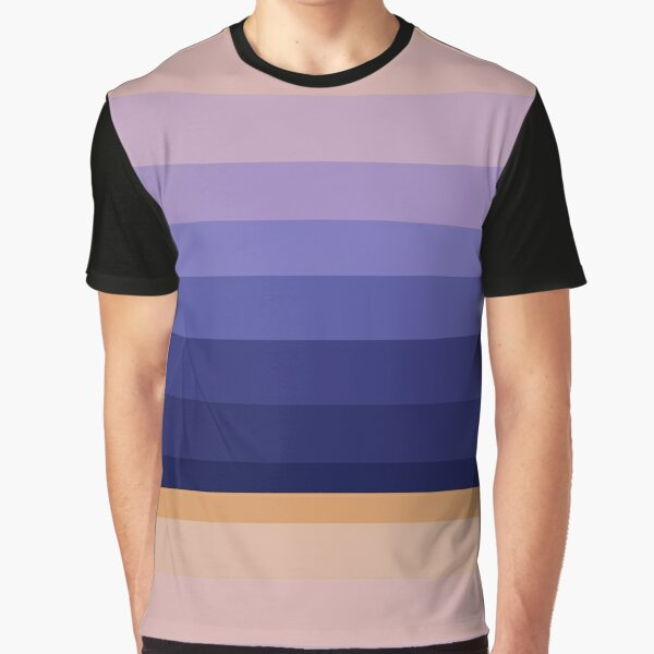 Winter 2021 Color Palette - Sunset Frost Graphic T-Shirt