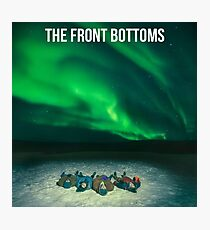 the front bottoms aurora Photographic Print