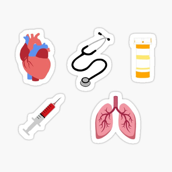 Medical Sticker Pack Sticker