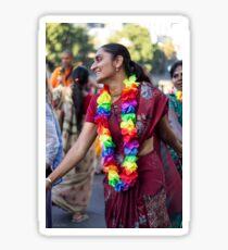 Dancing in the street Sticker