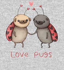 Love Pugs Kids Pullover Hoodie