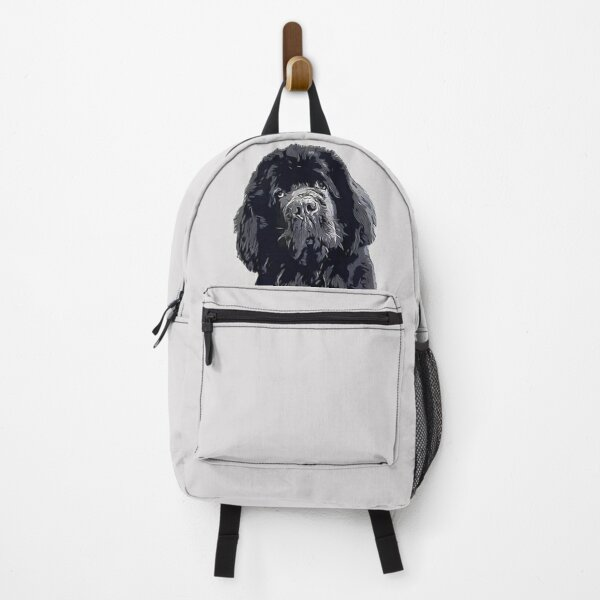 Newfoundland Cute Head Tilt Backpack